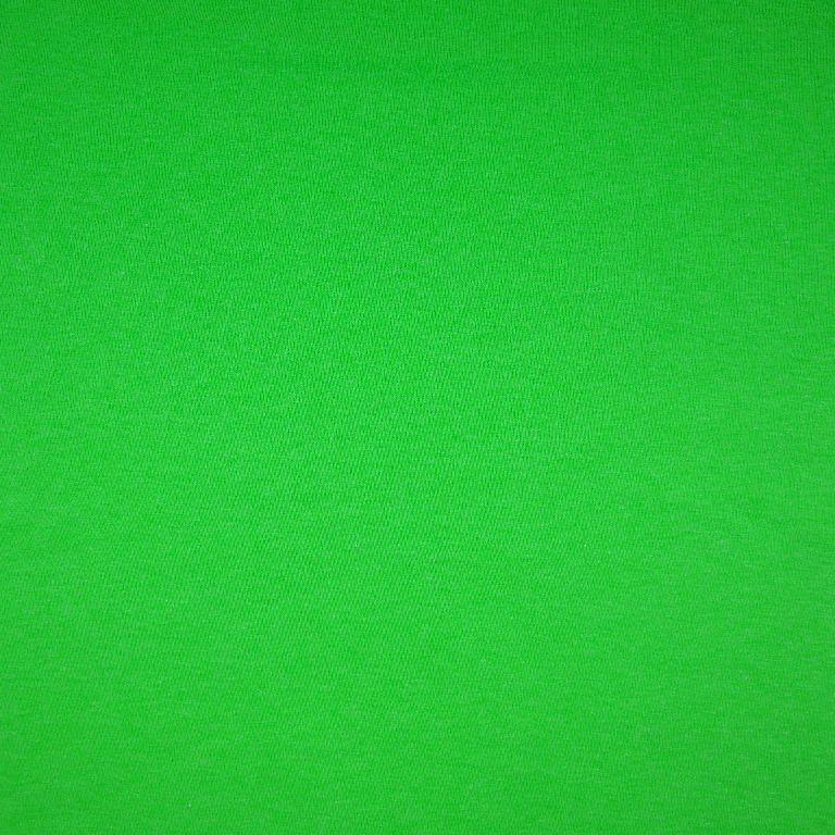 Bündchen glatt Neon Grün