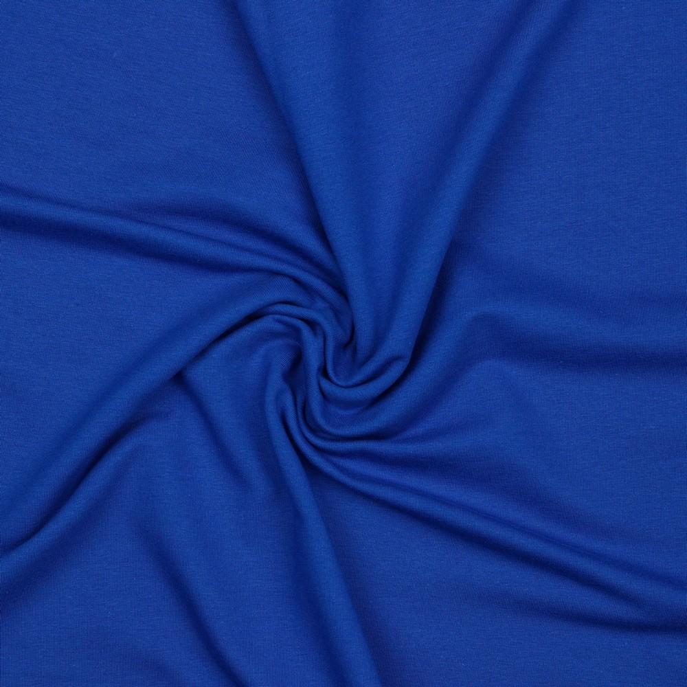French Terry Azur Blau