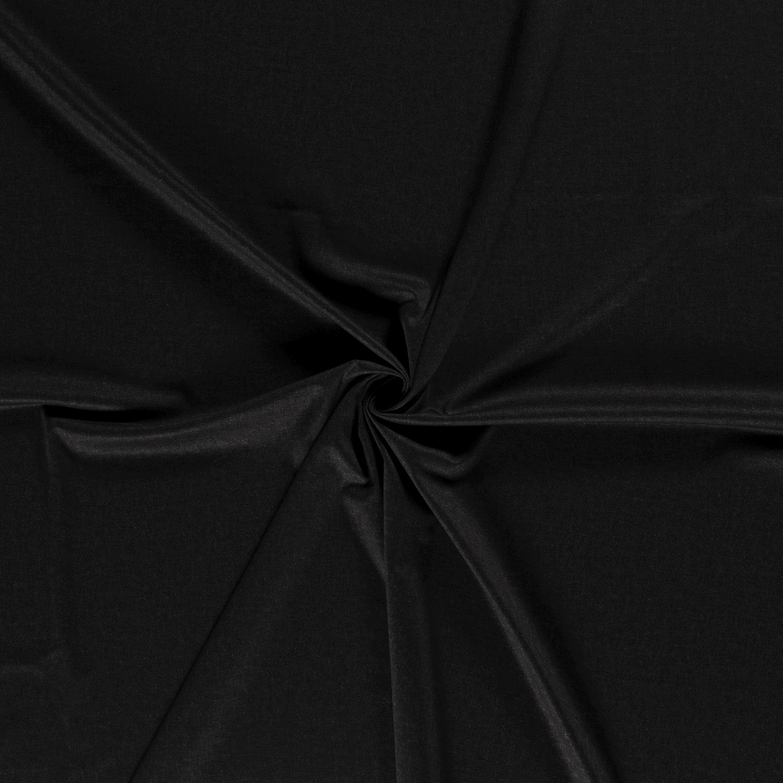 Romanit Jersey -  Schwarz Melange