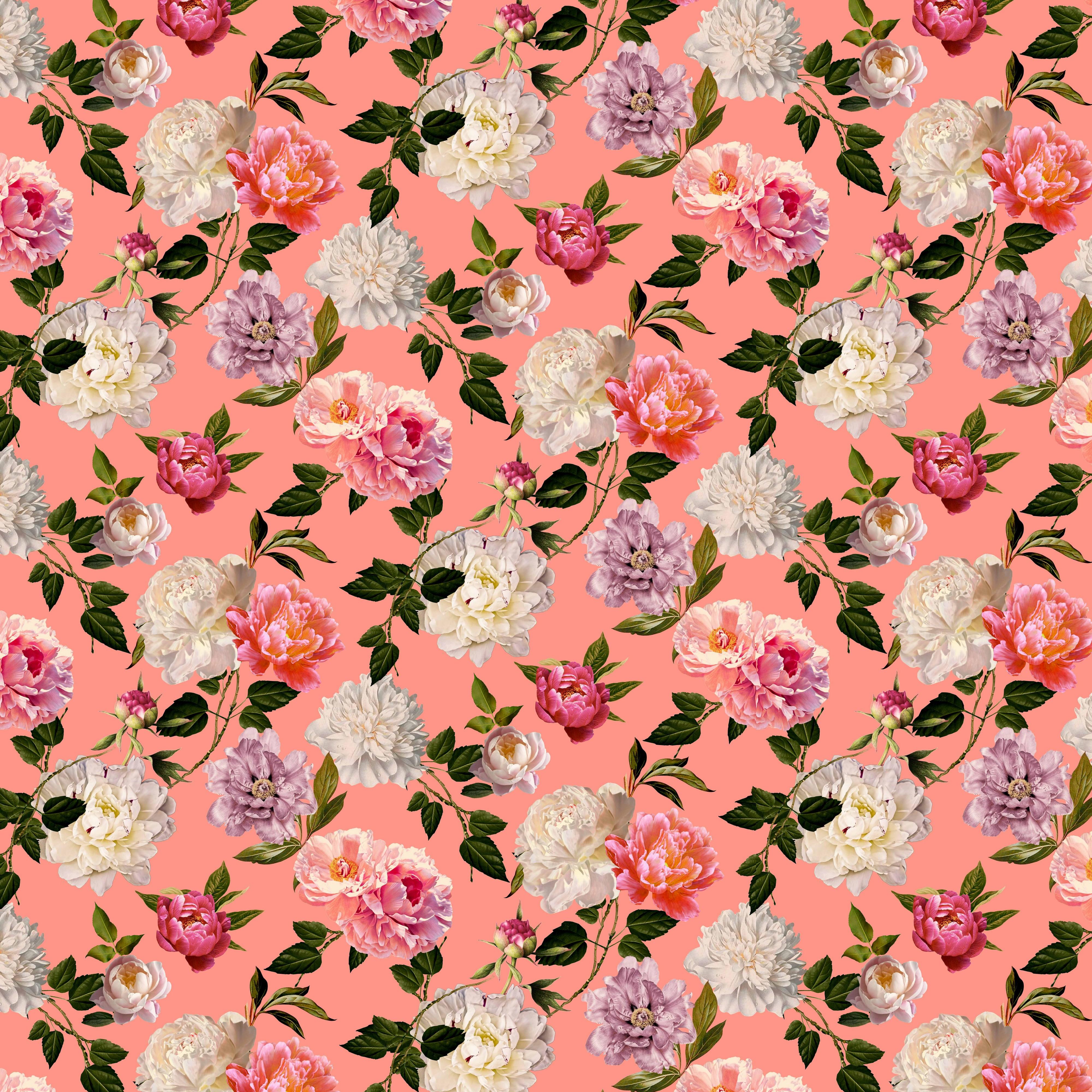 Viskosejersey Romantic Rose