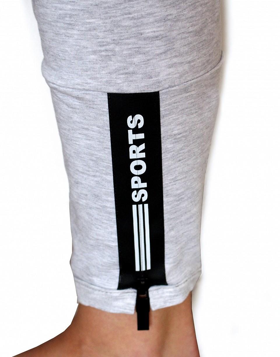 endlos Reißverschluss Sport Black