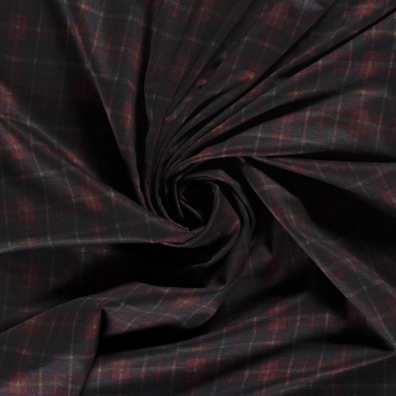 Romanit Jersey -  Schottenkaro Rot