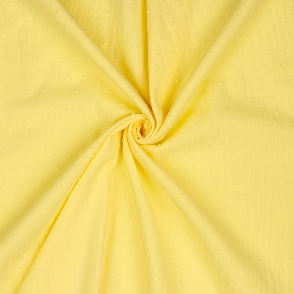 Crew Box Bluse Talea Pastel Gelb