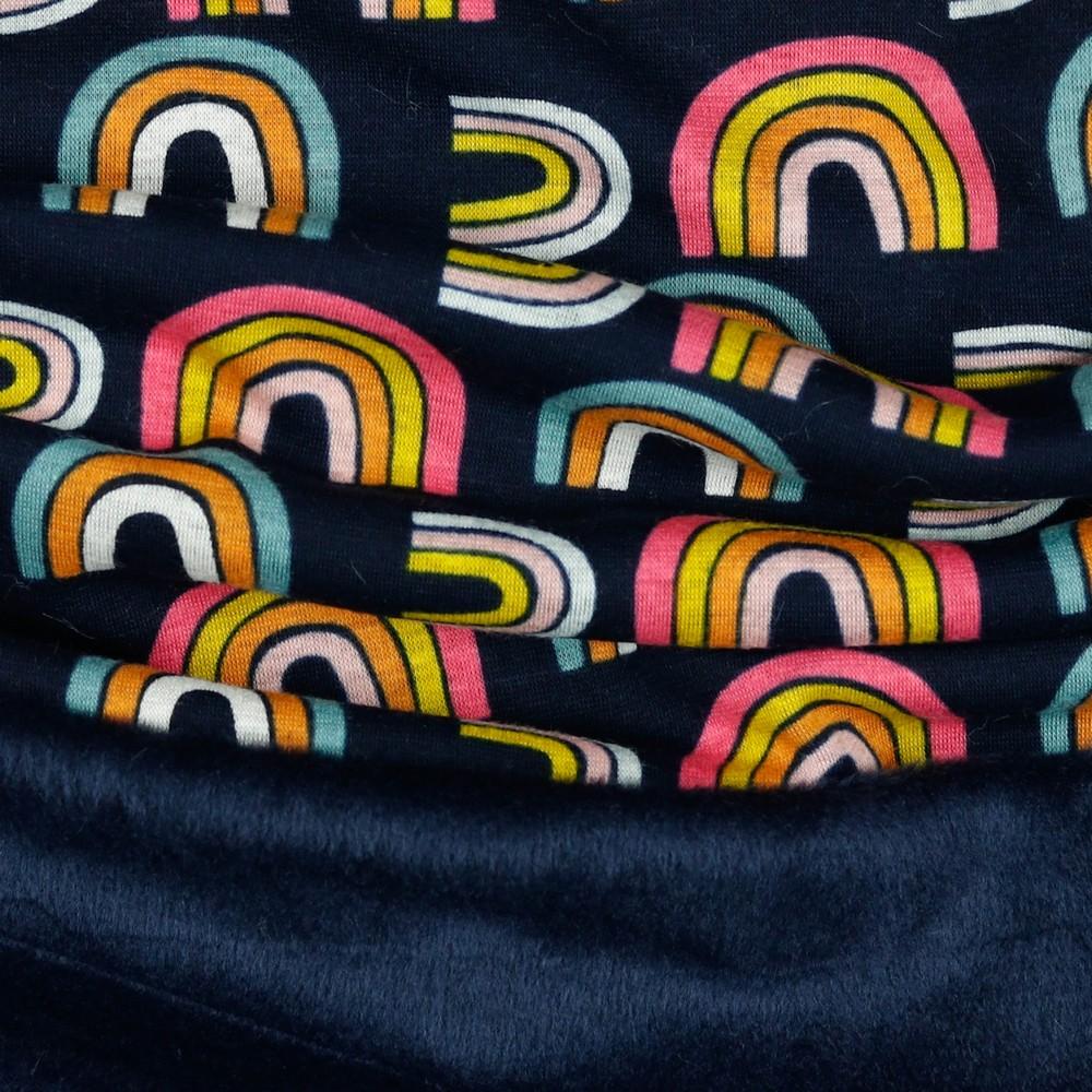 Alpenfleece Happy Rainbow