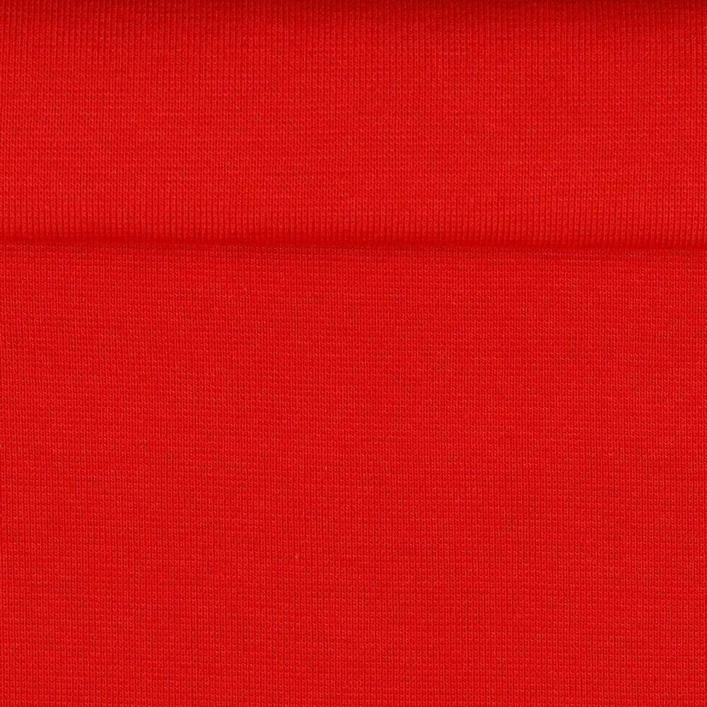 Bündchen glatt Feuerwehr Rot