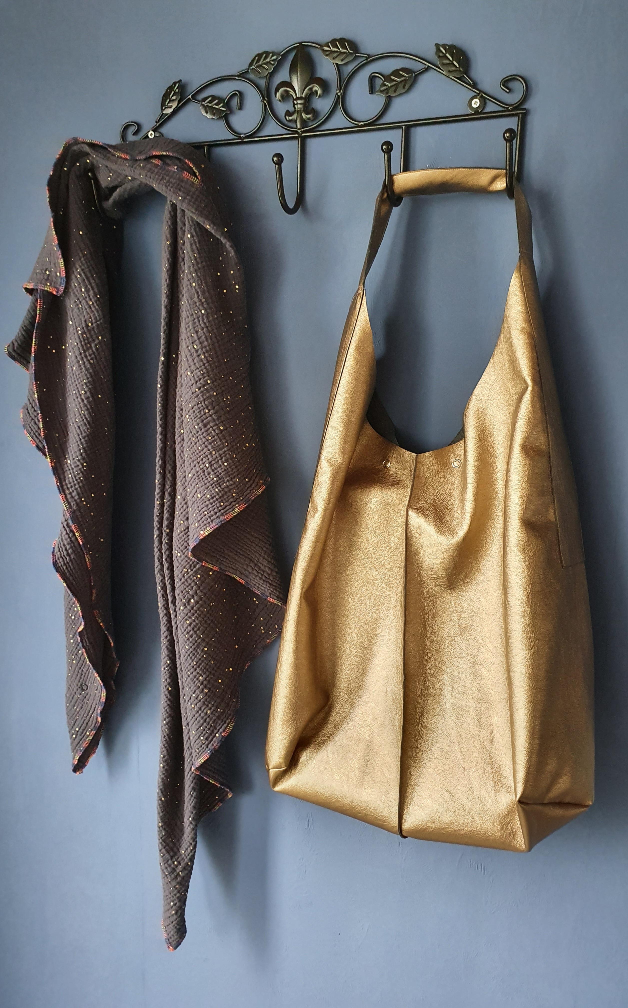 Crew Box Purely Bag Kunstleder Copper