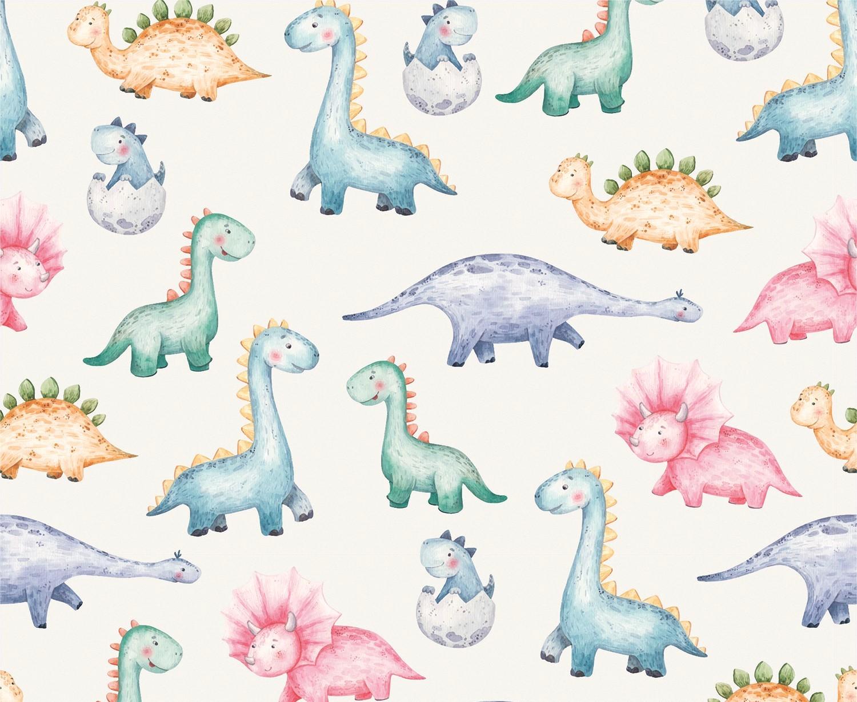 Baumwolljersey  Dino Babys