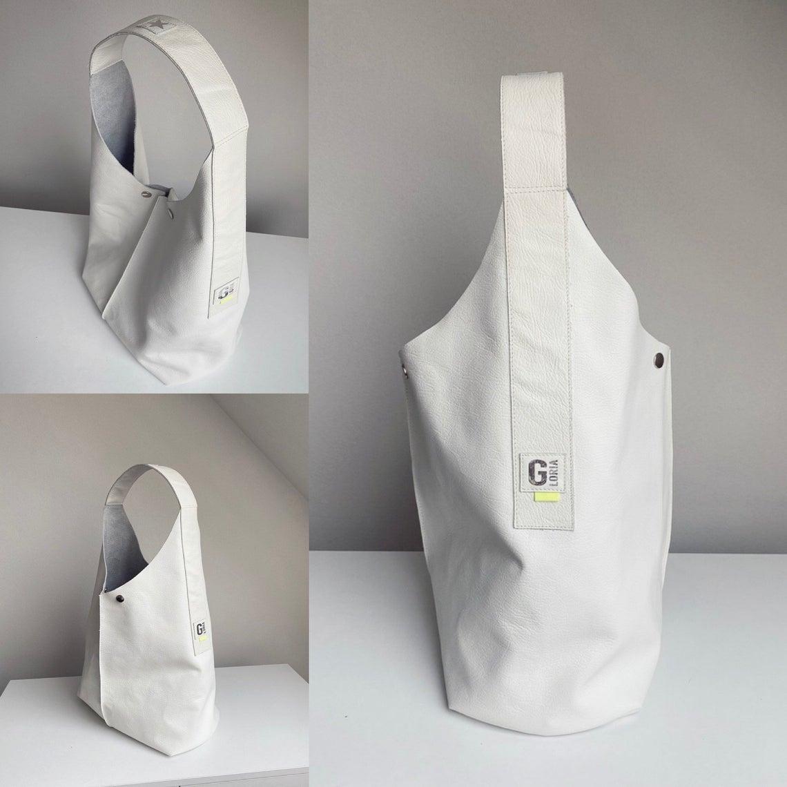 Crew Box Purely Bag Kunstleder Cognac