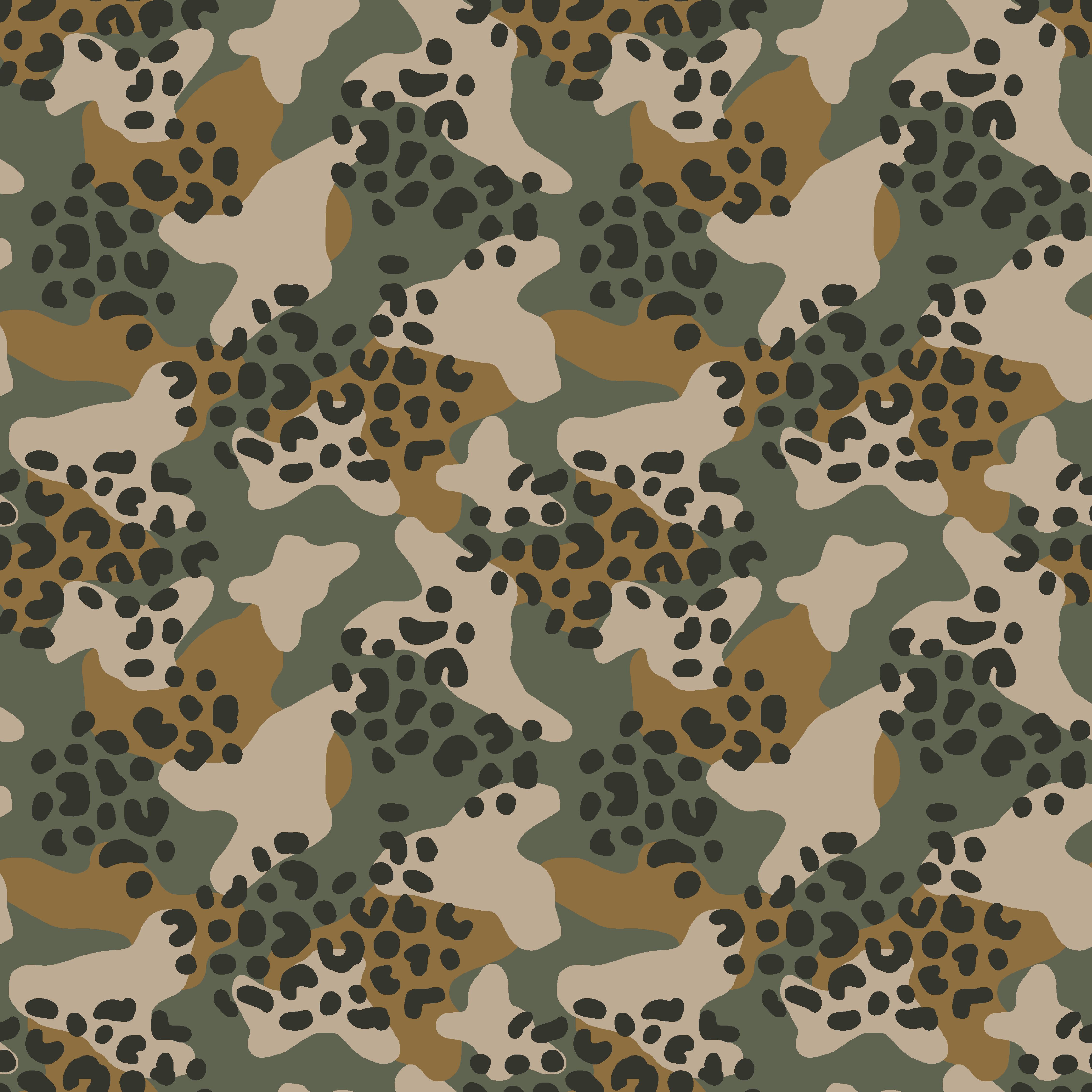 Soft Sweat Camouflage Leo Army