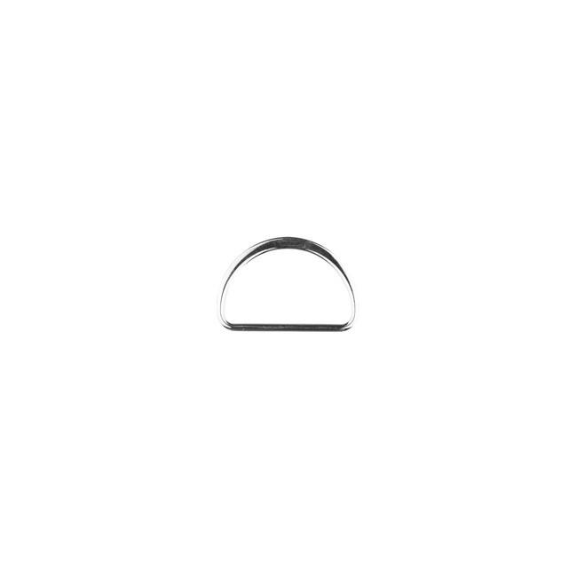 D Ring 25 mm Silber
