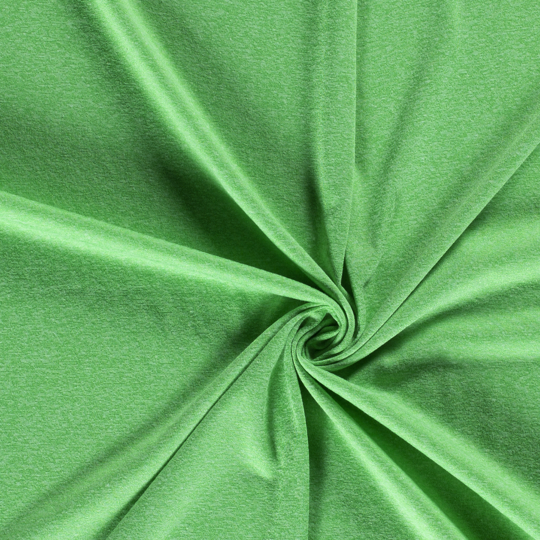Feinstrick Grün Melange