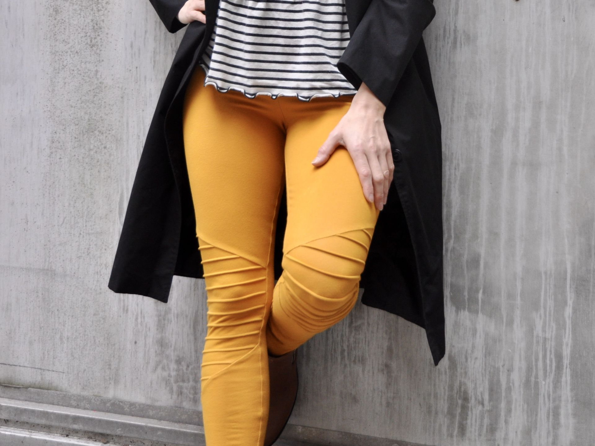Jeans Stretch Ocre