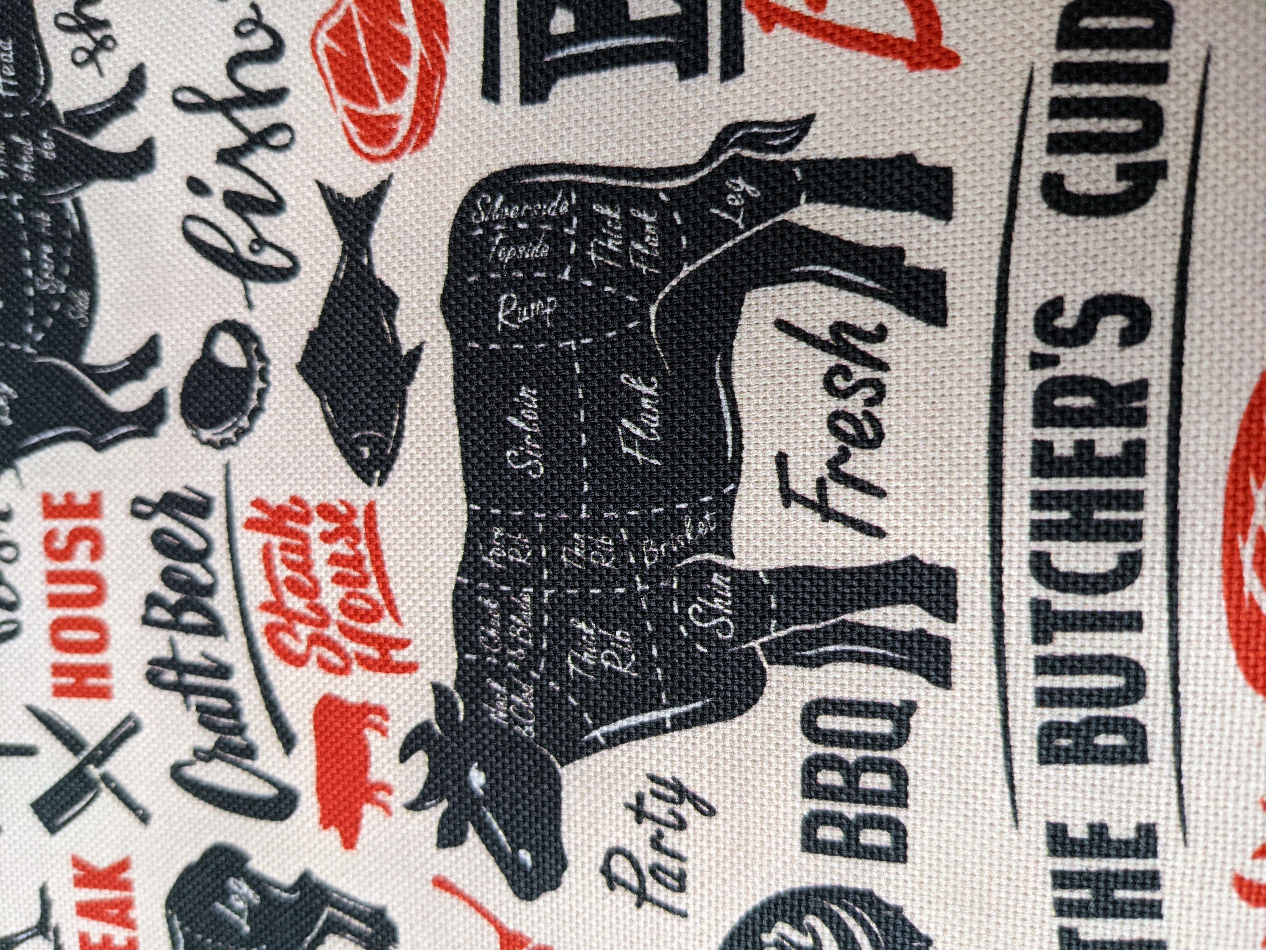 Baumwollstoff Grill Freude BBQ