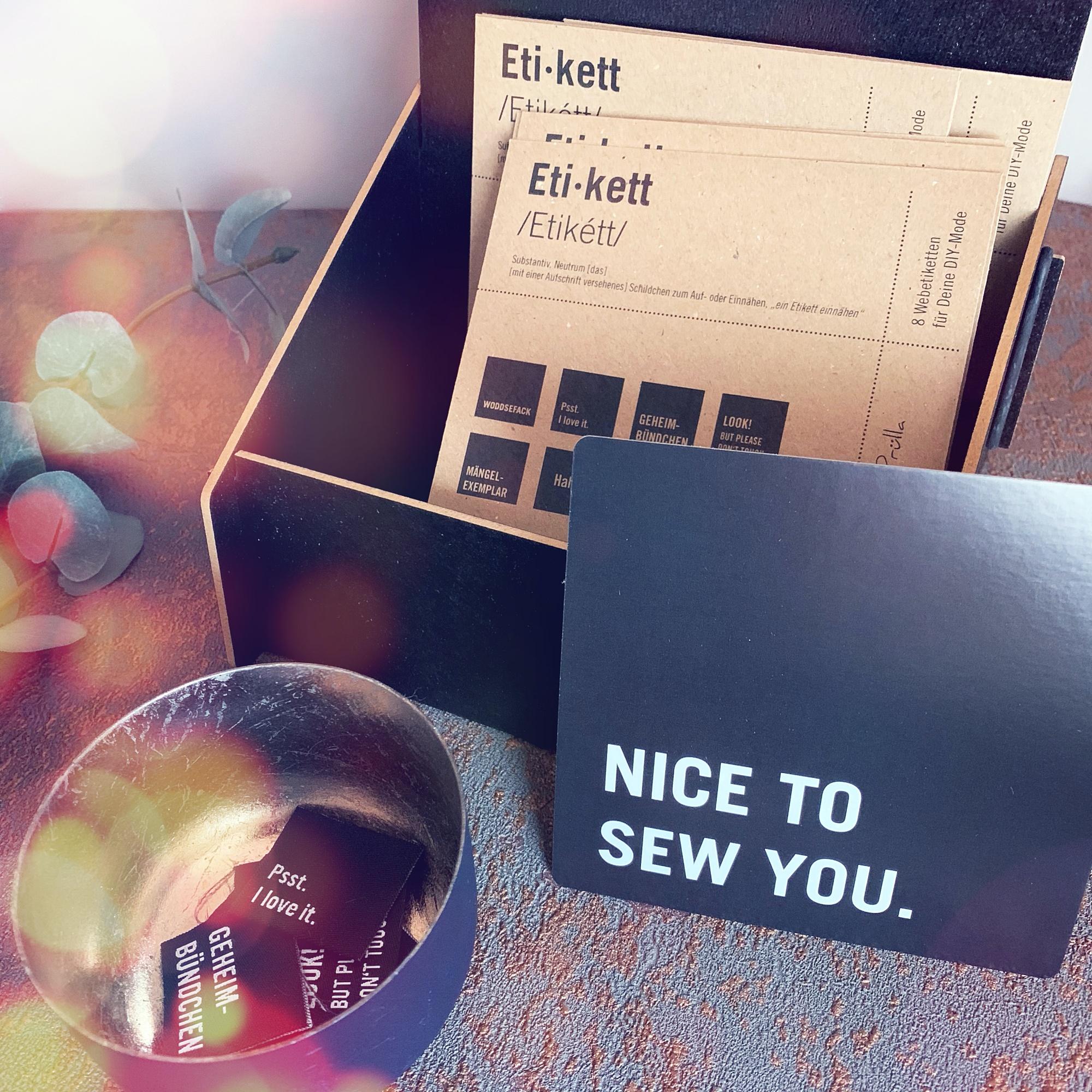 #mehretikette Vol.1 Nice to sew you