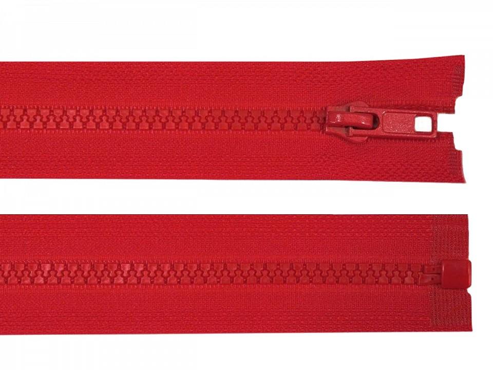 Reißverschluss Feuerwehr Rot 80 cm
